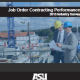 Job Order Contracting Performance
